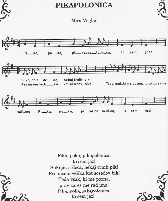 Pikapolonica – Mira Voglar