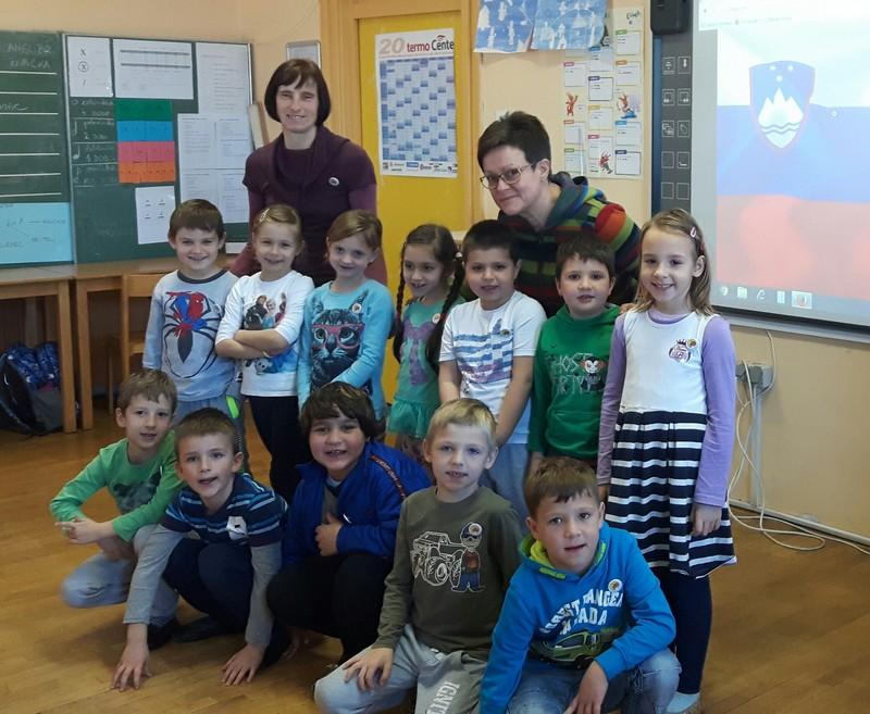 Sprejem prvošolcev v šolsko skupnost – Veliki Podlog