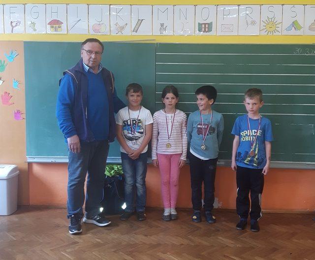 Prejemniki medalj za šah – Veliki Podlog