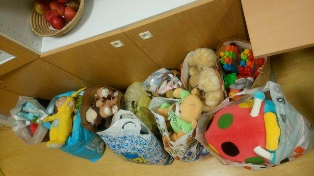 Dobrodelno zbiranje igrač