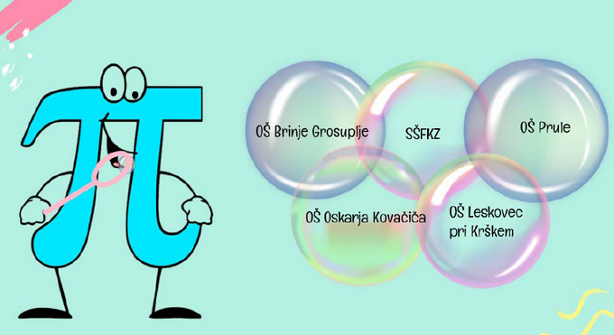π-jeva olimπjada – vabilo s povezavo